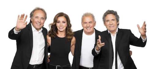 Joan Manuel Serrat, Ana Belen, Víctor Manuel y Miguel Ríos