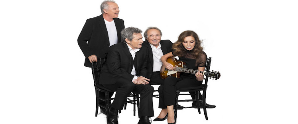 Víctor Manuel, Miguel Ríos, Joan Manuel Serrat y Ana Belén