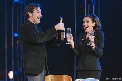Ginés García Millán y Ana Belén en Kathy y el hipopotamo