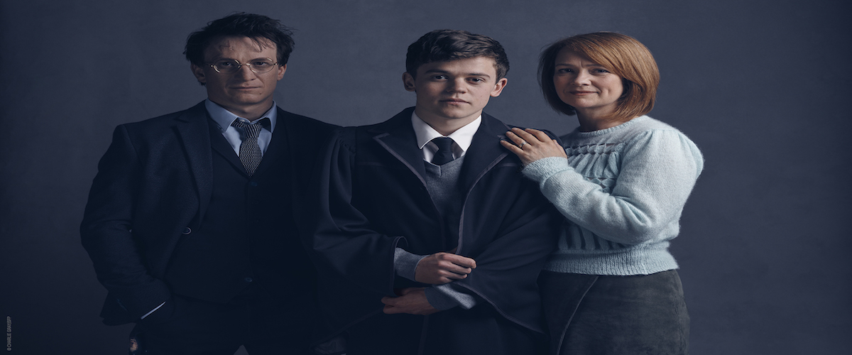 Harry, Albus and Ginny Potter