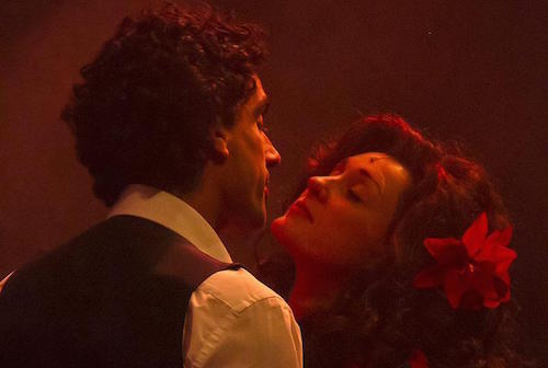 Sebastian Torkia y Hannah Grover