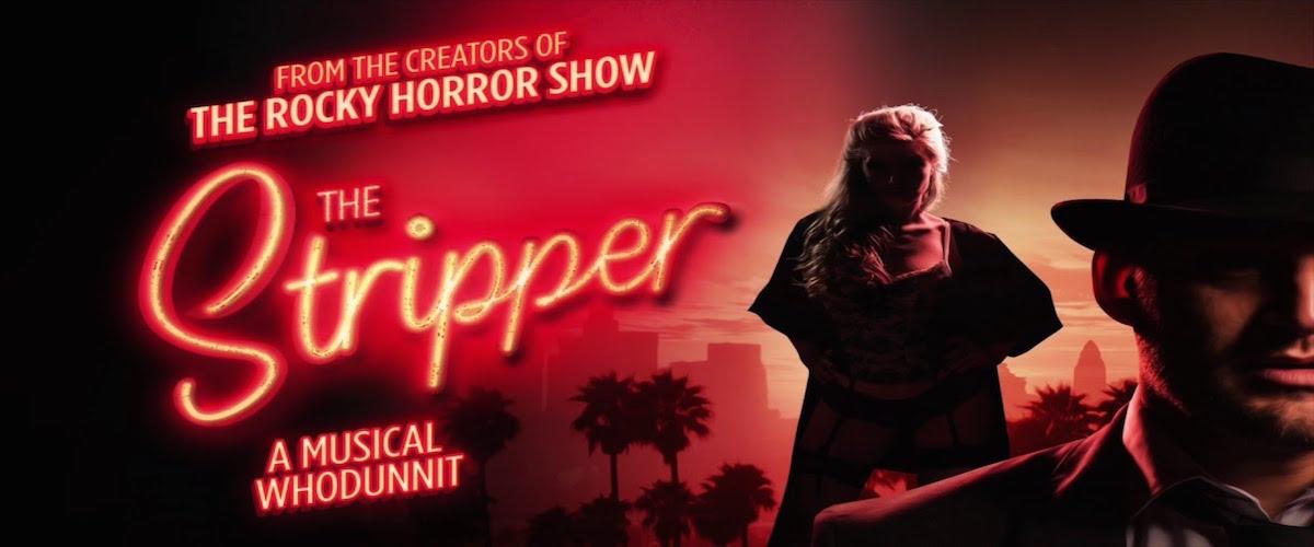 Cartel de The Stripper en el St James Theatre