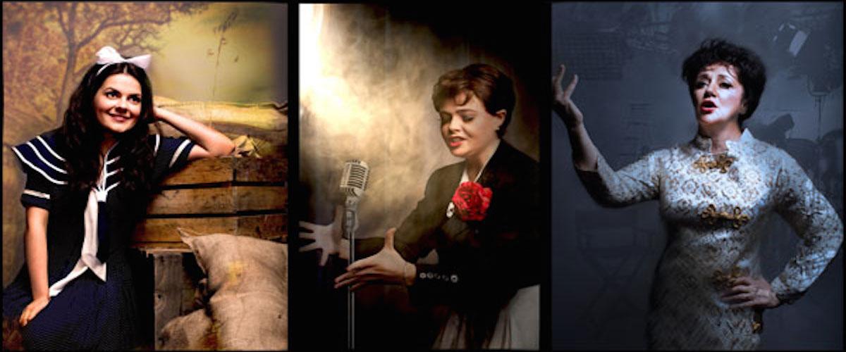 Tres Judy Garland: Lucy Penrose, Belinda Wollaston, Helen Sheals