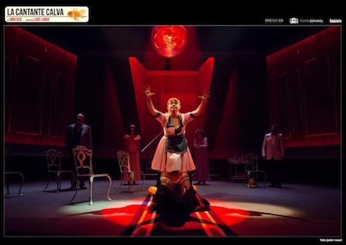 La cantante calva teatro español