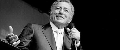 El crooners Tony Bennett