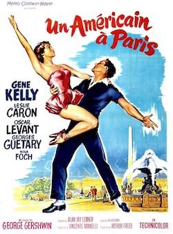 Poster del film Un americano en París