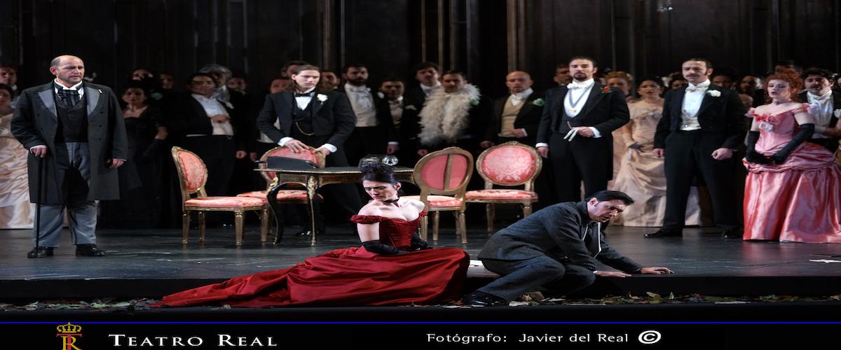Foto de la producción del teatro Real