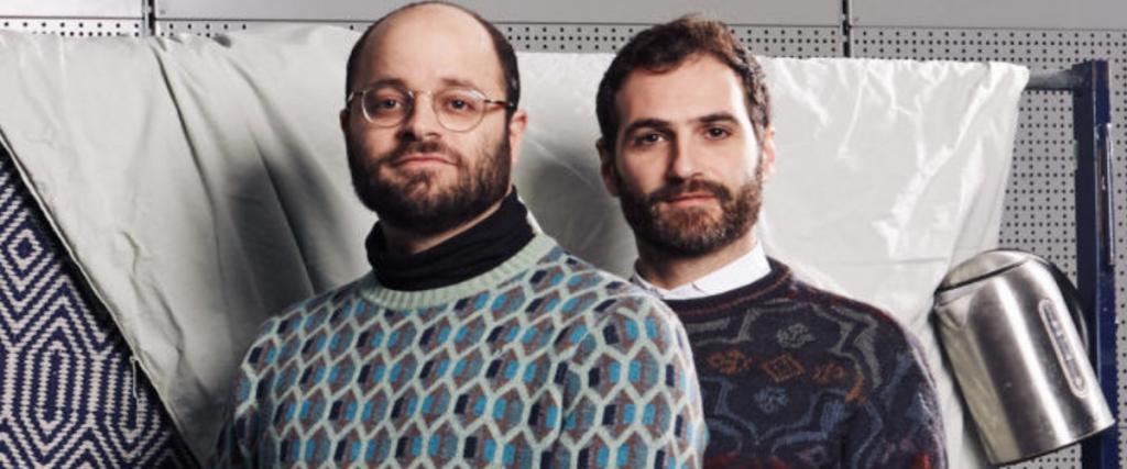Victor Esses y Yorgos Petrou en Unfamiliar
