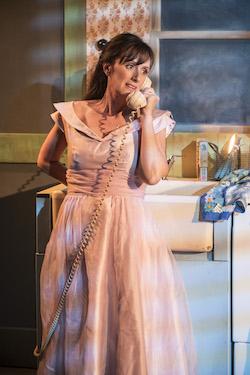 Jenna Russell como Francesca en The Bridges of Madison County.