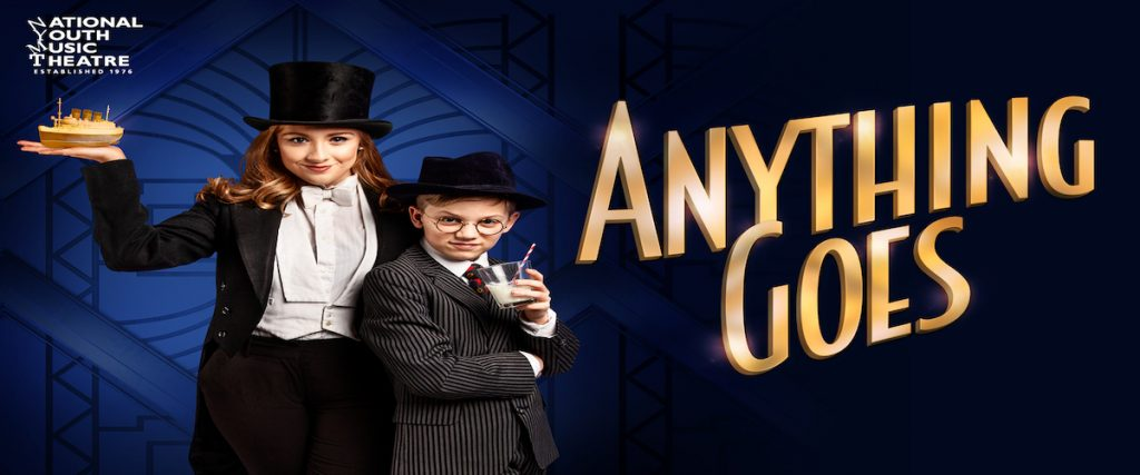 Cartel de Anything goes, la producción de NYMT