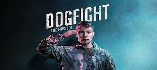 Cartel de Dogfight en la producción de The British Theatre Academy en Londres